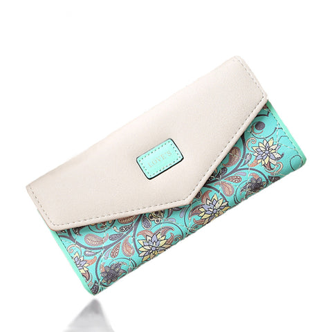SUQI Famous Brand Designer Luxury Long Wallet Women Wallets Female Bag Ladies Money Coin Women Purse Carteras Cuzdan