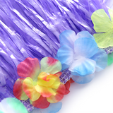 8PCS Hawaiian Luau Hula Skirts-Tropical Party Decorations Favors Supplies - Happidtime