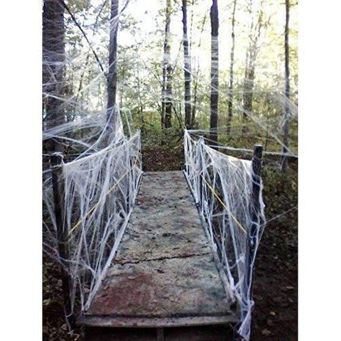Fake Spider Web Halloween Party Decorations Props 800 sqft - Happidtime