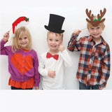 Holiday Party - Photo Booth Props Kit - 17 Count fot Wedding Birthday Christmas Xmas Party Family