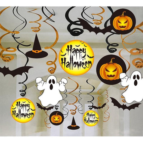 30Ct Halloween Party Hanging Decorations - Happidtime