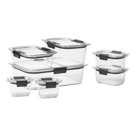 Luck Sea Food Storage Container,set of 14 - Happidtime