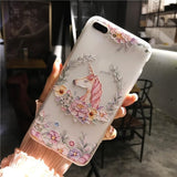 Phone Cases sFor iPhone 6 6S 7 8 Plus Case Silicone Cute Cartoon Coque Soft TPU Back Cover Case For Apple iPhone 6 6S 7 8 Plus - Happidtime