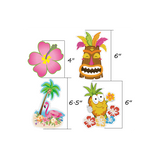 30 Ct Hawaiian Luau Tropical Party Hanging Swirl Decorations - Happidtime