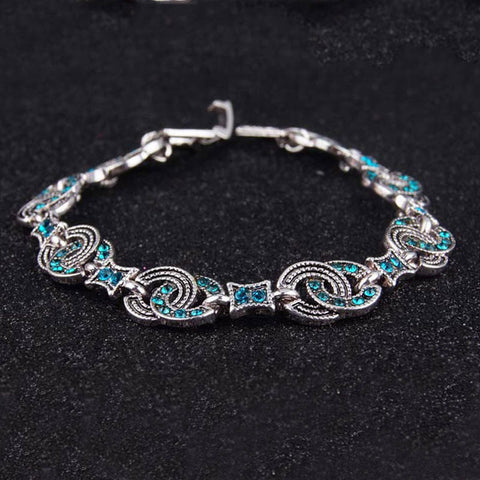 Newest Vintage Jewelry Party Gift Silver Color Bracelets