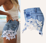 Bohemia Short Jeans Hole Washed Street Denim Shorts Female