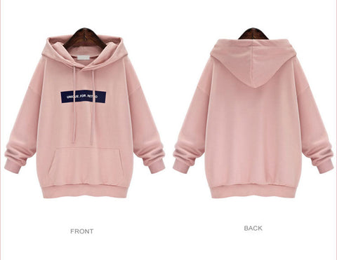 The Plus Size Hoodie Sweatshirt Women Hoodies Brand Long Sleeves Female Sweatshirt Thicken Hooded Sweatshirt