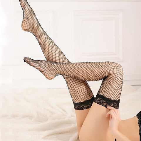 Ladies Hollow out Mesh Nets Lace Fishnet Stockings Pantyhose