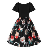 Women Floral Plus Size Dress