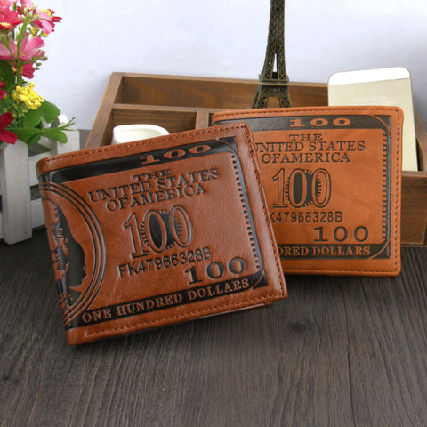 Hot Fashion wallets Bifold dollar novel Wallet ID Card holder Purse Pockets