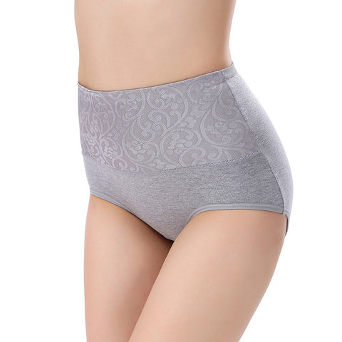 Cotton Panty High Waist Breathable  Body Shaping Panties