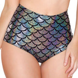Women Sexy Lingerie Scale Mermaid Briefs