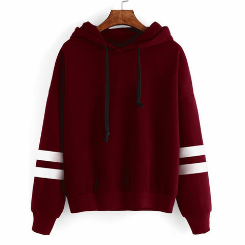 Women Hoodie Casual Design Long Sleeve Hooded Pullover