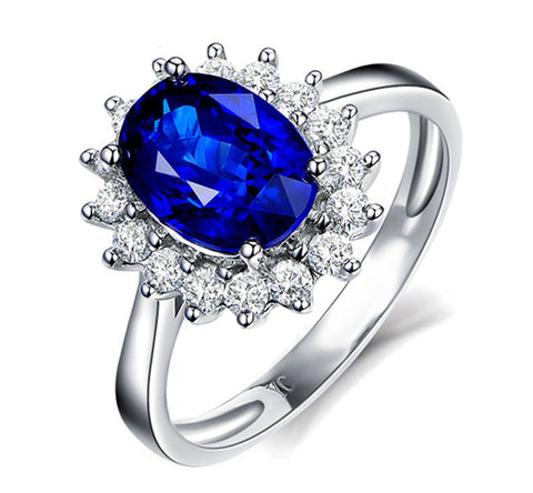New Design Ring Elegant Luxury Charm Austrian Crystal Zircon Ring