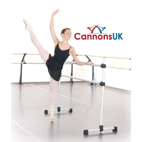 Freestanding and portable Ballet / stretch Barre.