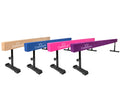 8ft gymnastics beam with adjustable legs