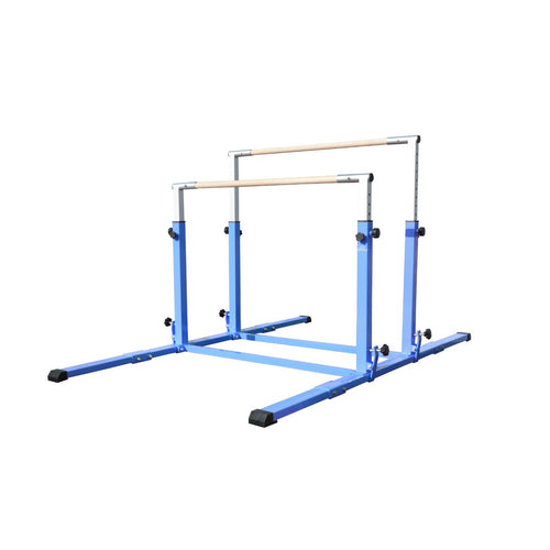 Cannons UK Junior Pro Adjustable 3-5ft Parallel Bars Blue
