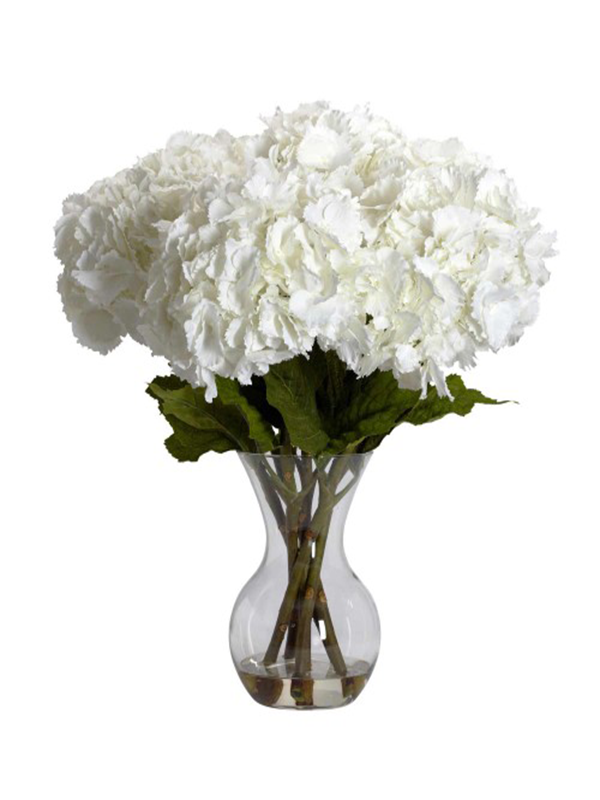 White Hydrangeas Bouquet Flower Bouquet Delivery Somerset