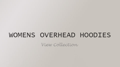 Womens Overhead Hoodies