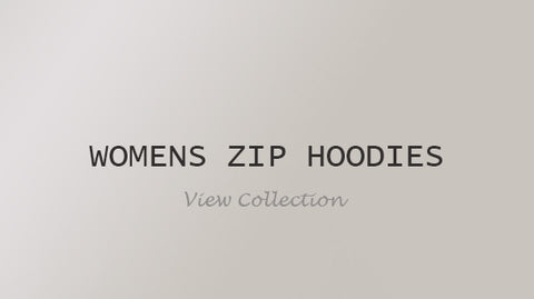 Womens Zip Hoodies