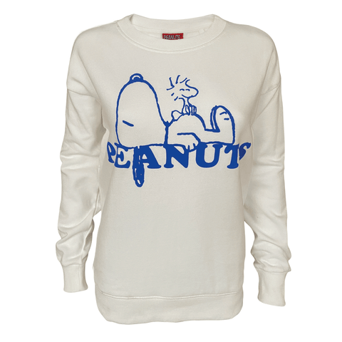 Peanuts - Snoopy Resting Women's Crew Sweat