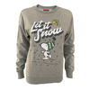Peanuts - Let It Snow Women's Crew Sweat