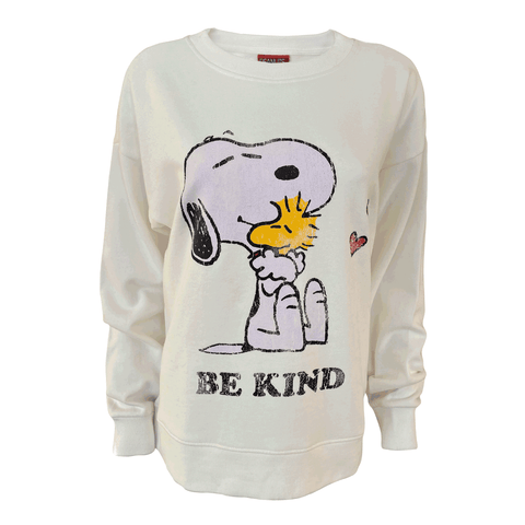 Peanuts - Be Kind Women's Crew Sweat
