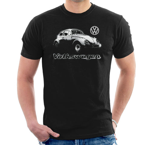 Official Volkswagen Beetle Spray Paint Mens T-Shirt