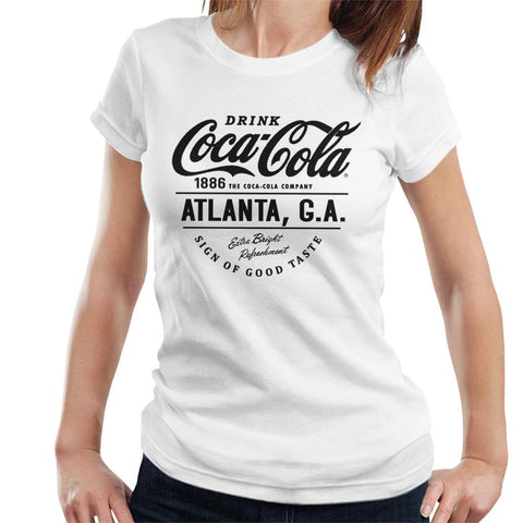 Official Coca Cola Atlanta GA Womens T-Shirt