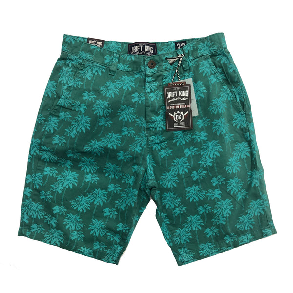 Drift King - Palm Tree Print Short