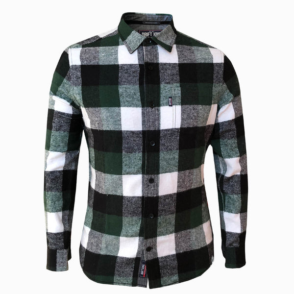 DRIFT KING - FLANNEL SHIRT