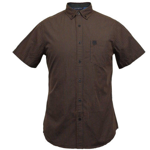Drift King - Short Sleeve Gingham Shirt