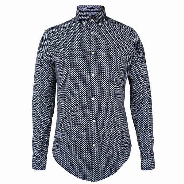 LUXE HOMME SELECT - Premium Oxford Long Sleeve Shirt (McQueen)
