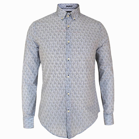 LUXE HOMME SELECT - Premium Oxford Long Sleeve Shirt (Frank)