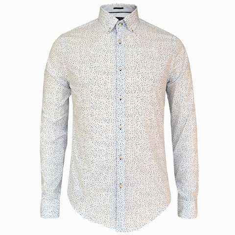 LUXE HOMME SELECT - Premium Oxford Long Sleeve Shirt (Mitchell)