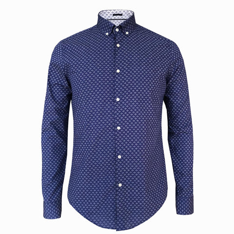 LUXE HOMME SELECT - Premium Oxford Long Sleeve Shirt (Miles)