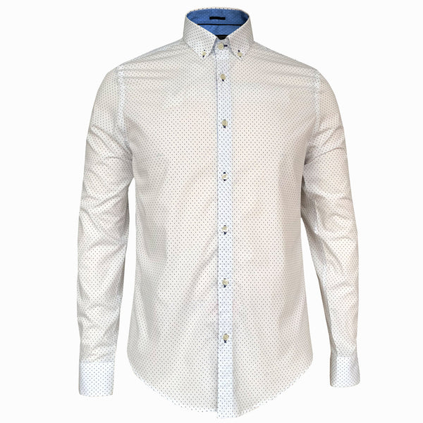 LUXE HOMME SELECT - Premium Oxford Long Sleeve Shirt (Edwin)