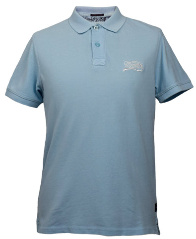 Mambo Polo Top in Aqua