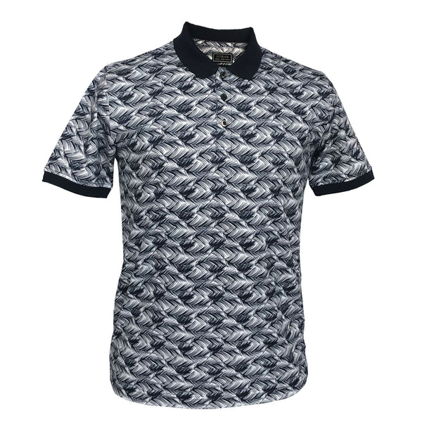 Outrage - All Over Print FEATHER PRINT Polo