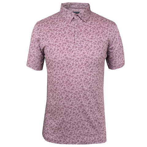 Outrage - All Over Print DITSY FLORAL Polo