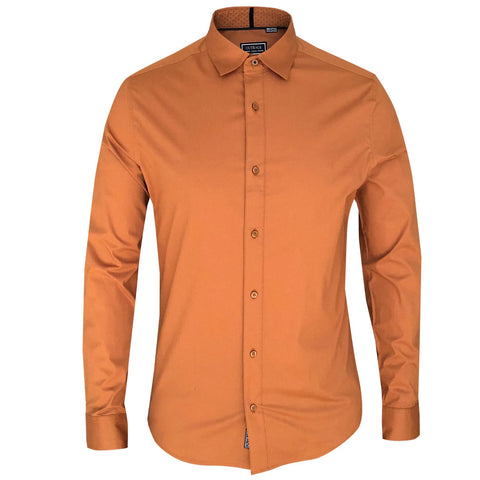 OUTRAGE - COTTON STRETCH LONG SLEEVE SHIRT