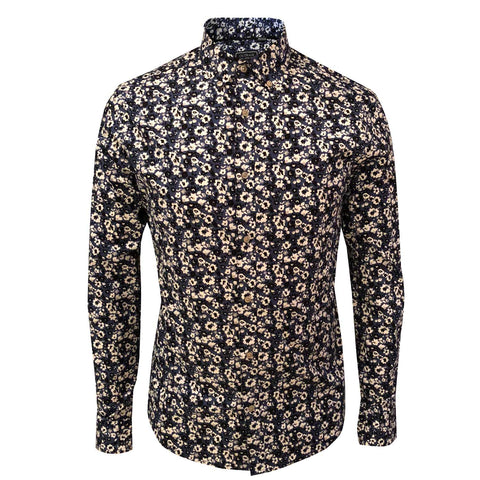 OUTRAGE - ALL OVER PRINT LONG SLEEVE SHIRT (DANTI)