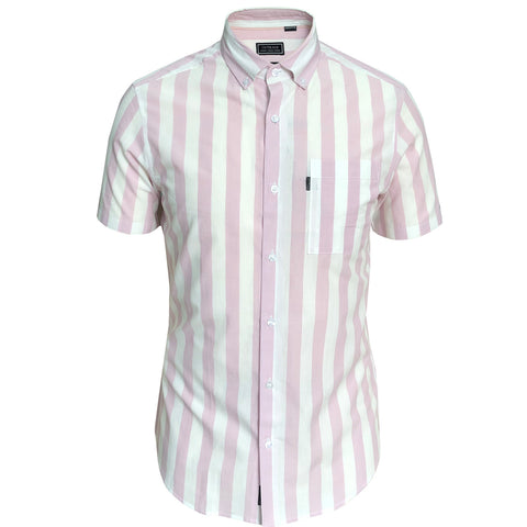 Outrage - Large Stripe Short Sleeve Shirt