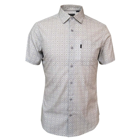 Outrage - Geo Tile Short Sleeve Shirt