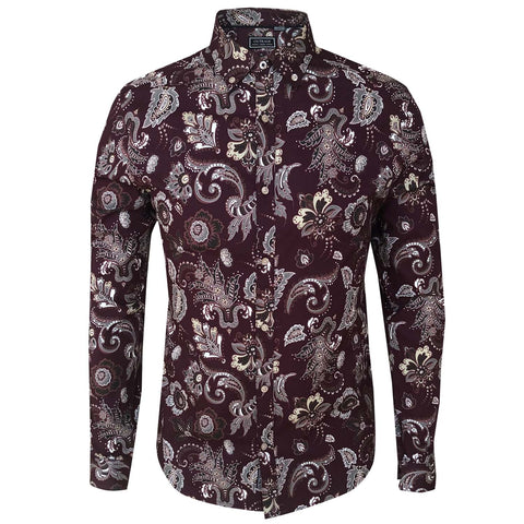 Outrage - All Over Print Long Sleeve FENSTON
