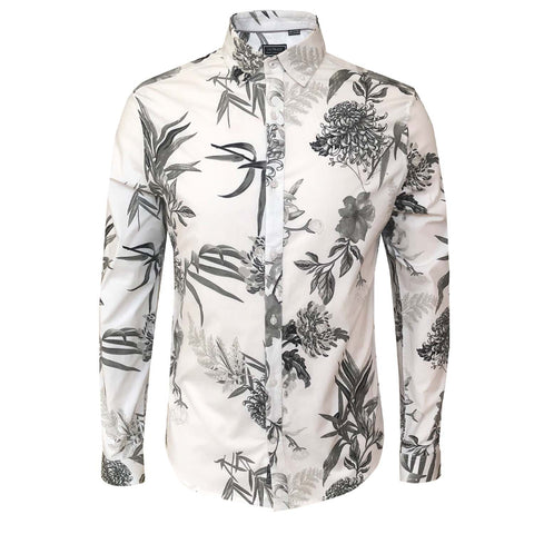 Outrage - All Over Print Long Sleeve AZALEA