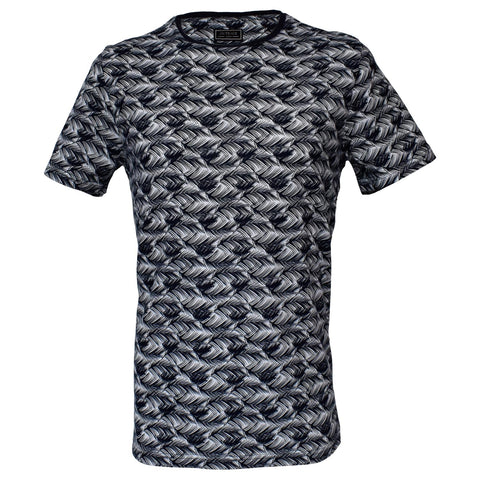 Outrage - All Over Print Feather Print T-Shirt