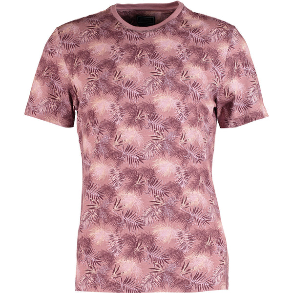 Outrage - All Over Print SPRAY LEAF T-Shirt