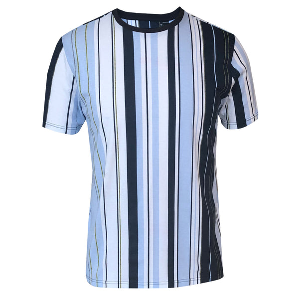 Outrage - All Over Print AZTECO PRINTED STRIPE T-Shirt