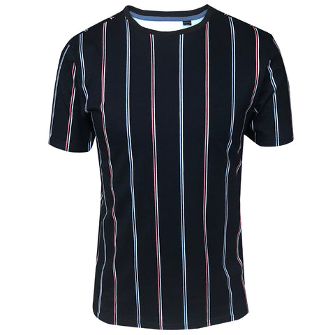 Outrage - All Over Print DIEGO STRIPE T-Shirt